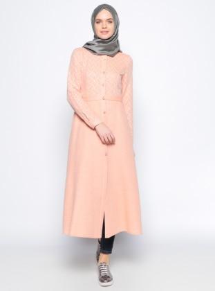 Puantiyeli Tunik - Somon