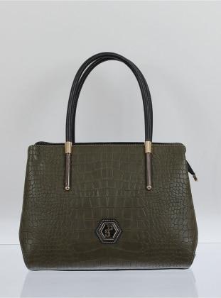 Çanta - Haki Mat Siyah