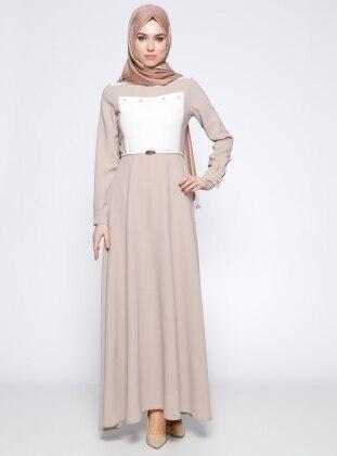 Garnili Elbise - Taş Tuğba