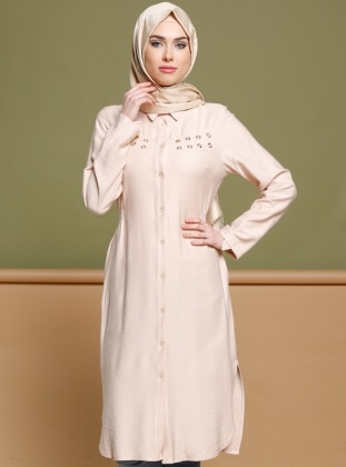 Powder - Point Collar - Tunic - Puane 270169