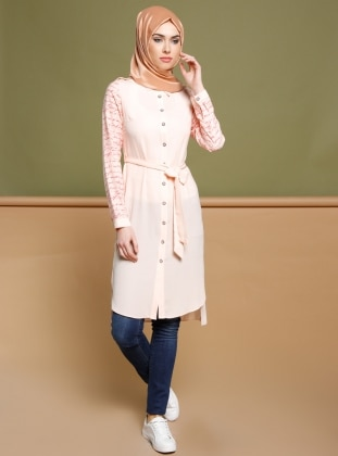 Powder - Multi - Point Collar - Tunic - Puane 270204
