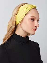 Yellow - Scarf Accessory