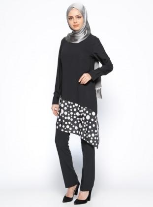 Klasik Pantolon - Siyah