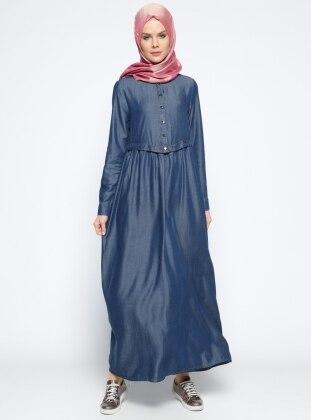 Neways Tensel Elbise - Lacivert