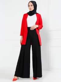 Refka Pantolon Etek - Siyah - Refka