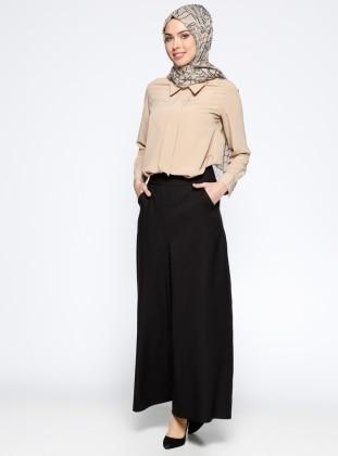 Pantolon Etek - Siyah