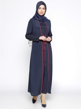 Pardesü Dünyası Yelek&Elbise İkili Takım - Lacivert