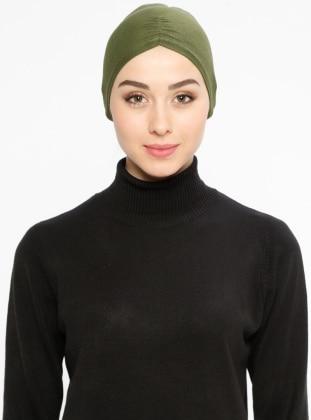 Viscose - Lace up - Khaki - Bonnet
