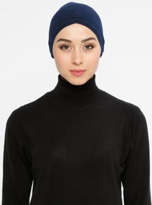 Viscose - Lace up - Navy Blue - Bonnet