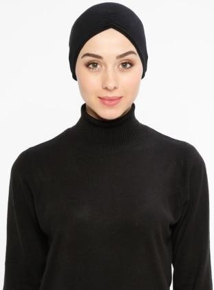 Viscose - Lace up - Black - Bonnet