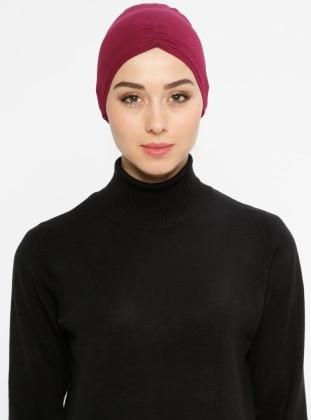 Viscose - Lace up - Maroon - Bonnet