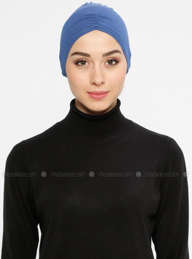 Viscose - Lace up - Blue - Bonnet