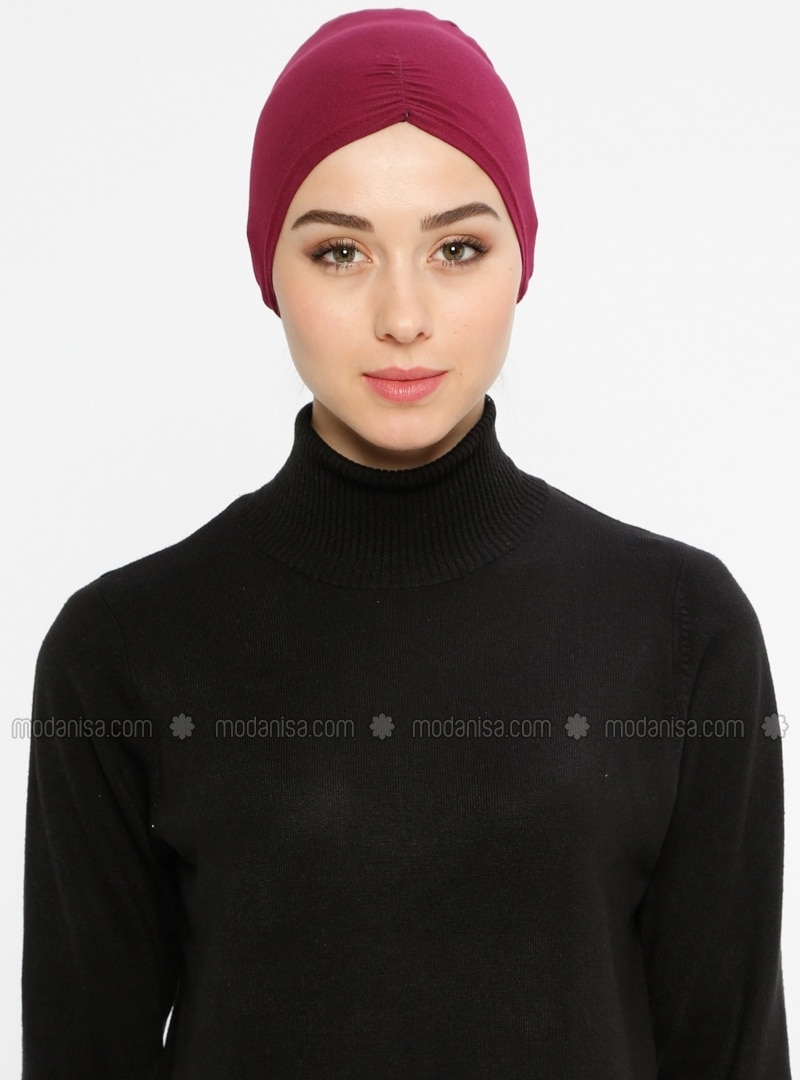 Viscose - Lace up - Maroon - Bonnet