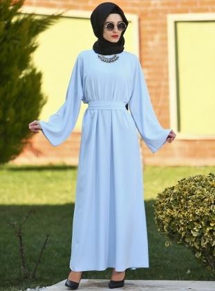 Ferace Elbise - Mavi Gabra