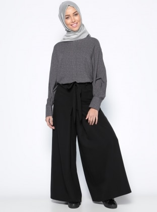Beha Pantolon Etek - Siyah