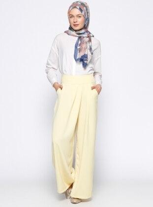 Pantolon Etek - Sarı