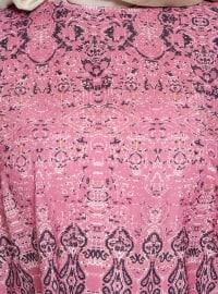 Pink - Multi - Crew neck - Tunic