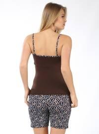 Brown - Multi - Pyjama