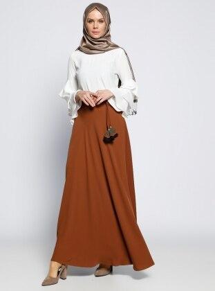 Kloş Etek - Camel