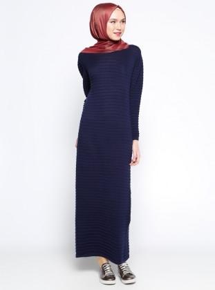 Mevsimlik Elbise - Lacivert
