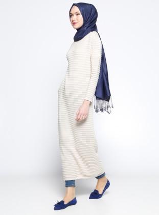 Mevsimlik Elbise - Taş