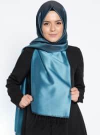Plain - Blue - Shawl