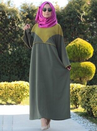 Ferace Elbise - Haki Melek Aydın