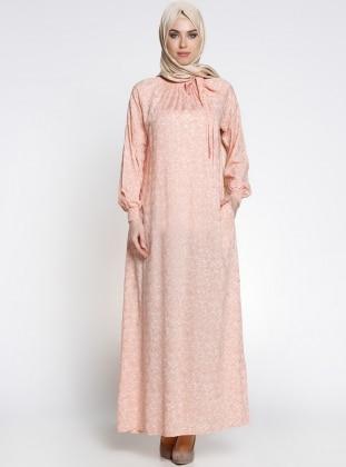 Gipeli Elbise - Yavruağzı