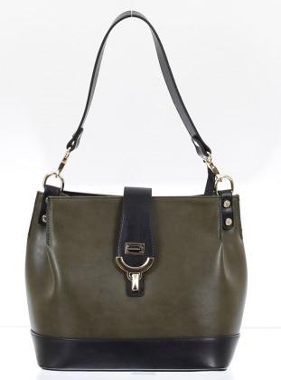 Çanta - Haki Siyah