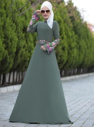 Lale Elbise - Haki