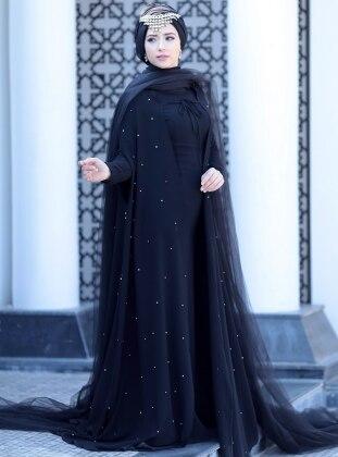 Alia Abiye Elbise - Siyah