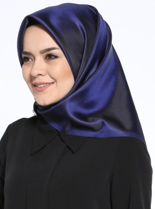 Saxe - Black - Plain - Scarf