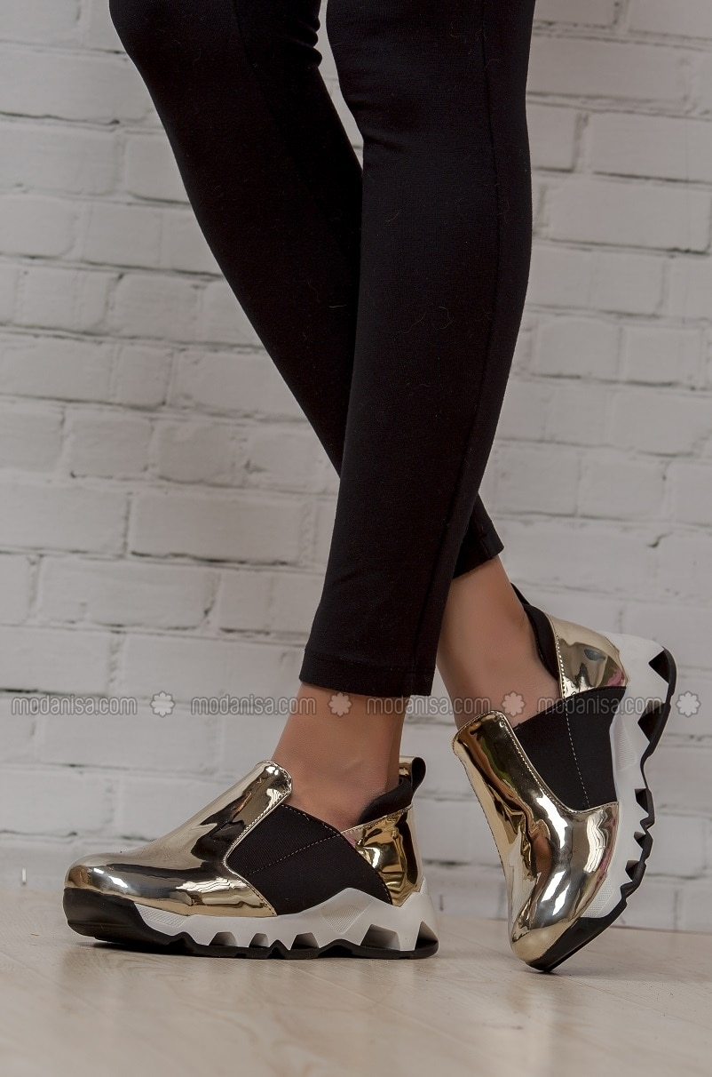 Black Gold Casual Shoes
