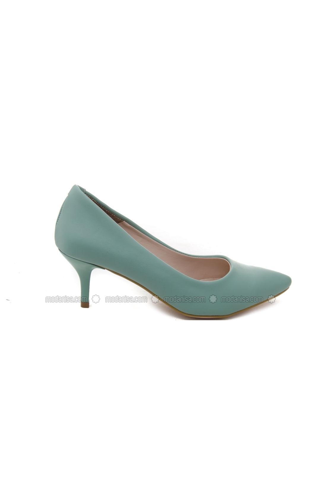 green high heel shoes ayakkabı havuzu by ayakkabı