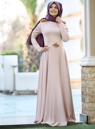 Madam Abiye Elbise - Somon