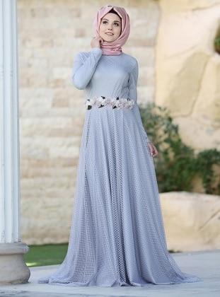 Elmira Abiye Elbise - Lila