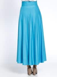 Blue - Fully Lined - Skirt