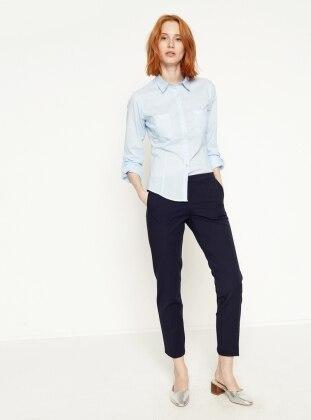 Koton Klasik Pantolon - Lacivert