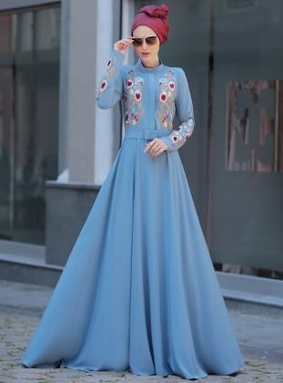 Mila Elbise - Mavi