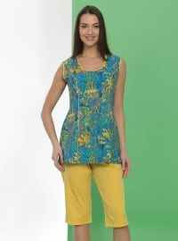 Yellow - Multi - Half Covered Switsuits