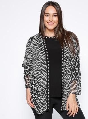 Bluz&Ceket İkili Takım - Siyah