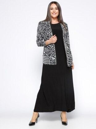 Ceket&Elbise İkili Takım - Siyah