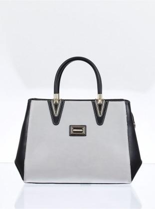 Çanta - Gri Siyah