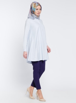 Appleline Klasik Pantolon - Koyu Mor
