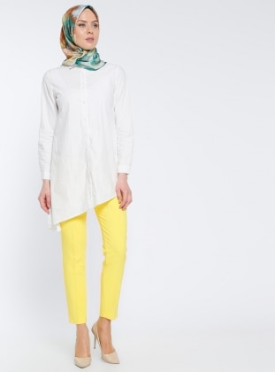 Klasik Pantolon - Sarı