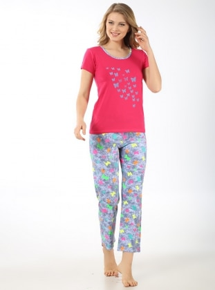 Pijama Takımı - Fuşya