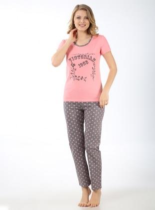 Pijama Takımı - Pudra