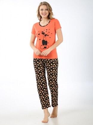 Pijama Takımı - Turuncu