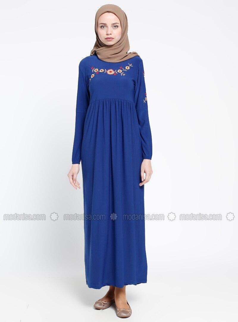 Kleid royalblau 48