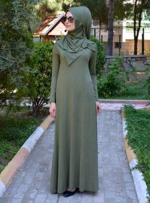 Salaş Elbise - Haki